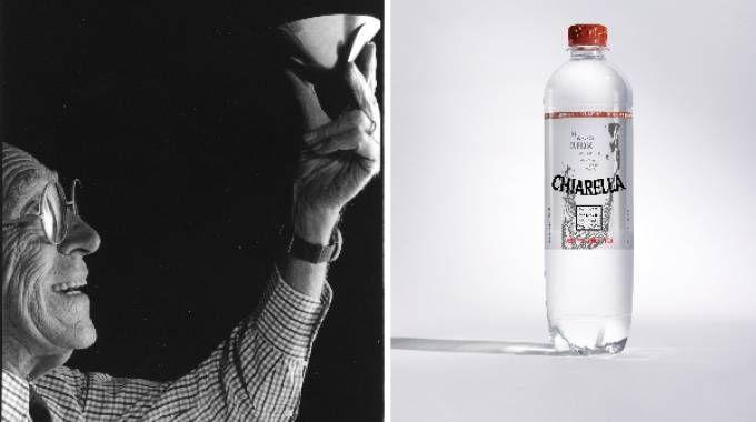Acqua Chiarella per 100x100 Achille: un'etichetta per augurare buon compleanno al Maestro