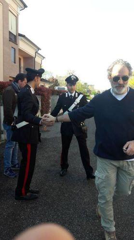 I carabinieri in borghese al lavoro