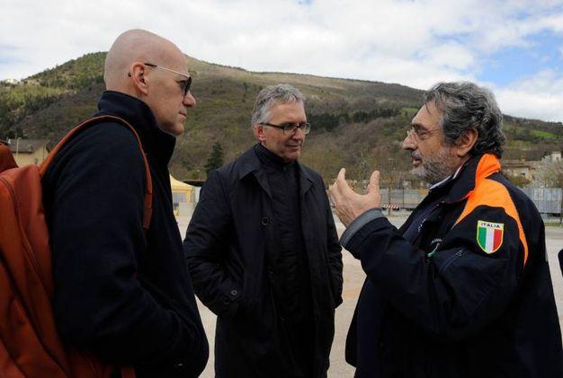 Presente il presidente della Regione Marche Luca Ceriscioli (foto Calavita)