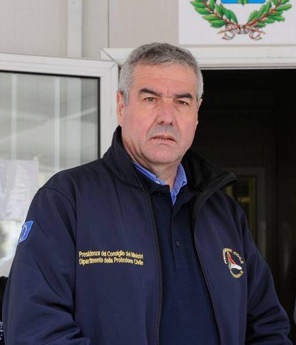 Il capo della Protezione civile Borrelli (foto Calavita)