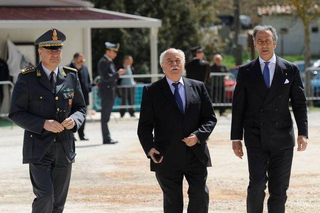 In foto Gravina, Pettinari e Pignataro (foto Calavita)