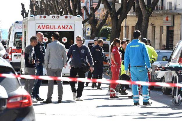 I soccorsi (Foto Agostini)
