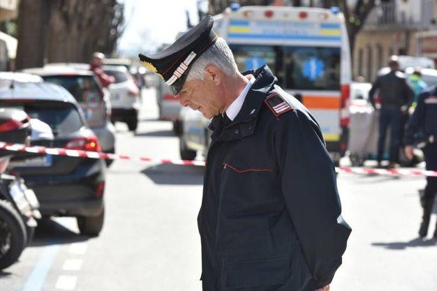 La strada chiusa (Foto Agostini)