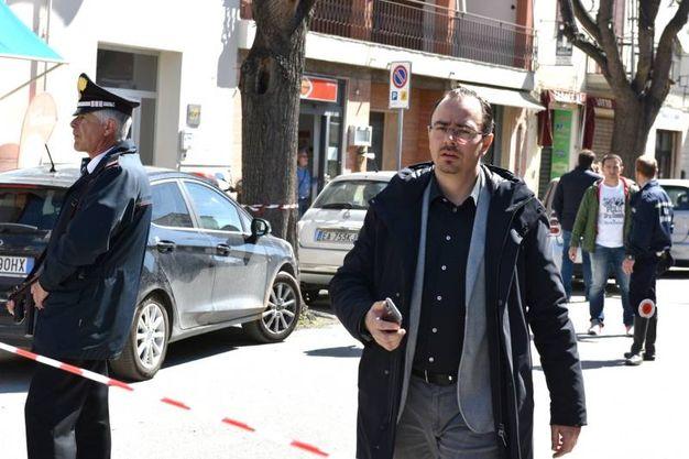 Il sindaco di Follonica (Foto Agostini)