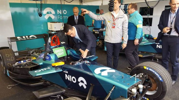 Formula E a Roma, Di Maio in visita ai paddock (Dire)
