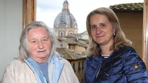 Selina Bonelli Zondadari con la figlia Margherita