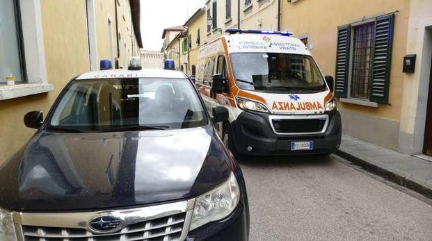I soccorsi nella strada del dramma (Foto Attalmi)