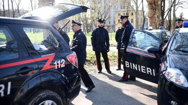 Una pattuglia dei carabinieri (archivio)