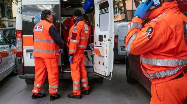 L'equipaggio di un'ambulanza (Foto di repertorio)