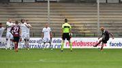 Salernitana in gol al 25' s.t. (foto LaPresse)