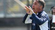 L'allenatore del Brescia, Boscaglia (foto LaPresse)