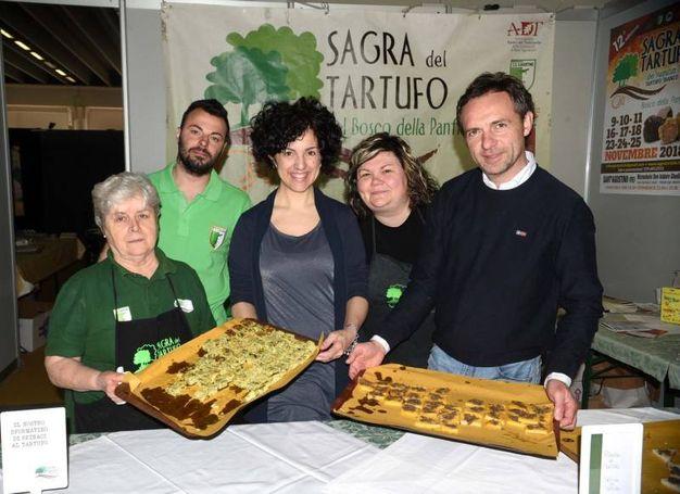 Non manca il tartufo (foto Businesspress)