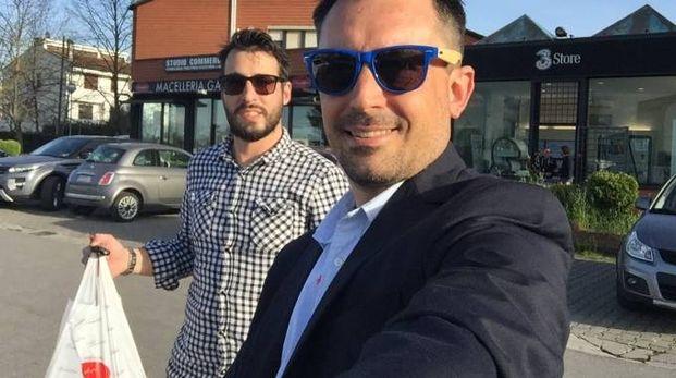 Da sinistra, Matteo Bagnoli e Matteo Arcenni