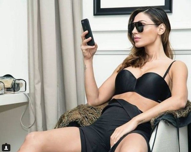 Sempre più sexy in lingerie  (Instagram)