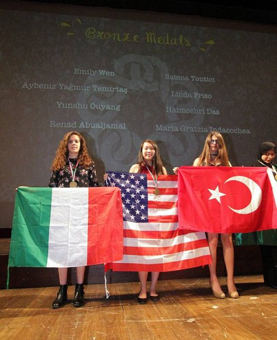 Olimpiadi Europee Femminili della Matematica (Egmo), foto Umberto Visintini/New PressPhoto