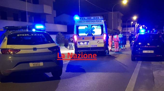 Il luogo dell'incidente