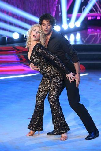 Gabriel Garko ballerino per una notte (Lapresse)