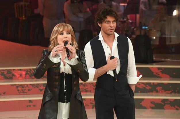 Gabriel Garko e Milly Carlucci (Lapresse)