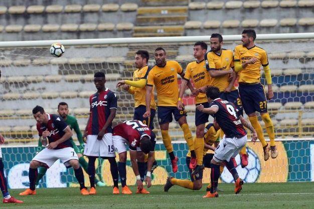 Bologna-Verona 1-0, Verdi (Ansa)