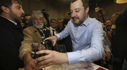 Salvini somellier (Ansa)