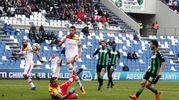 Sassuolo-Benevento 2-1, Politano (Ansa)