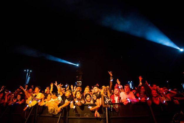 Il festival Coachella a Indio, in California (Lapresse)