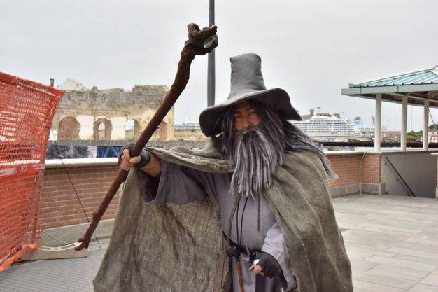 Cosplay a Porta a mare (Foto Novi)