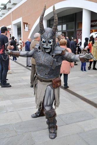 Cosplay a Porta a Mare (Foto Lanari)