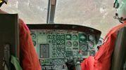 E' stato issato sull'elicottero decollato da Arezzo