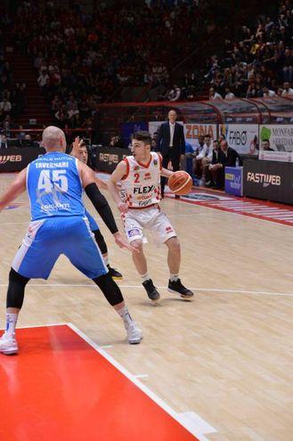 Campionato di Basket Legauno, The Flexx Pistoia- Banco Sardegna Sassari (Foto Castellani)