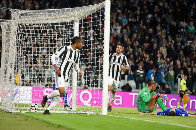 Juve-Sampdoria 3-0, Khedira (LaPresse)