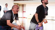 Gli allenatori della Pratese (foto Angela Bartoletti)