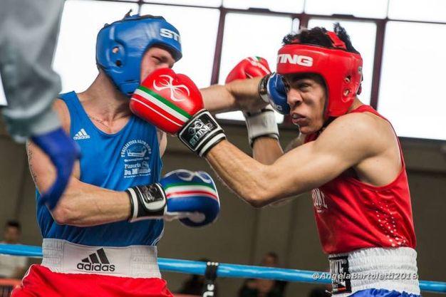 Francesco D'Alò vs Maksym Honchar (foto Angela Bartoletti)
