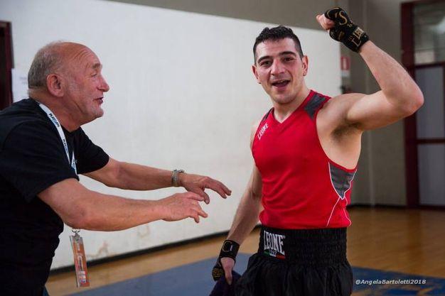 Matteo Pollastri vs Francesco Fenzi (foto Angela Bartoletti)