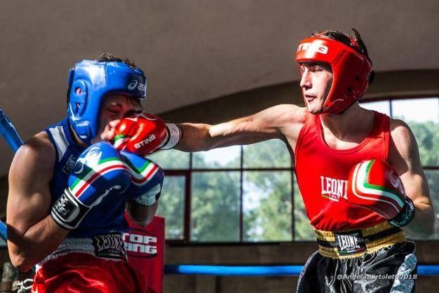 Roberto Stracquadaini vs Niccolò Sanna (foto Angela Bartoletti)