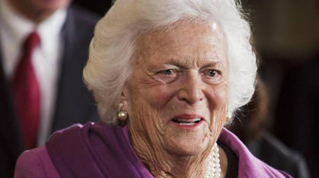 Barbara Bush (Ansa)