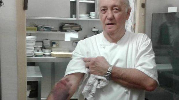 Mario Cattaneo è indagato per eccesso colposo di legittima difesa (Ansa)