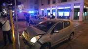 Due le auto coinvolte (foto Zeppilli)