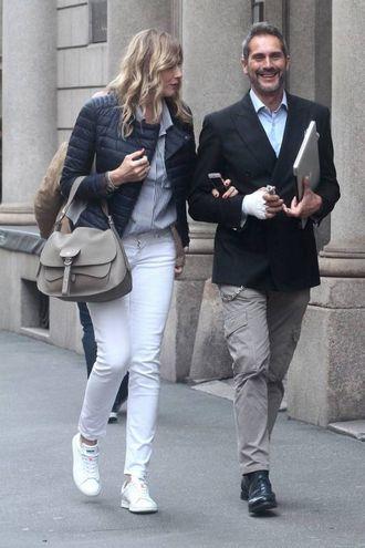 Natasha Stefanenko e il marito Luca Sabbioni
