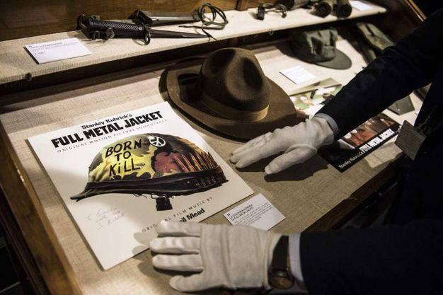 All'asta i cimeli di Full Metal Jacket, tra cui il cappello del sergente Hartman (Lapresse)