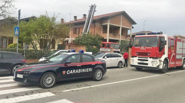 Incendio a Borgarello (Torres)