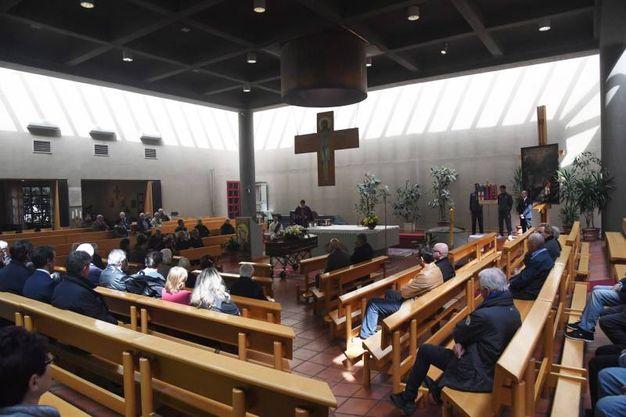 Il funerale di Cesarino Cervellati (foto Schicchi)