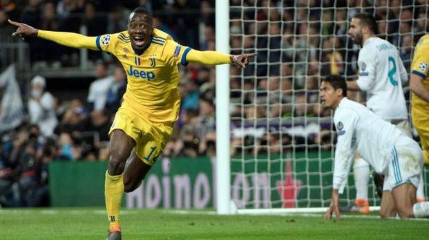 La gioia di Matuidi dopo il gol del momentaneo 0 a 3 rifilato al Real
