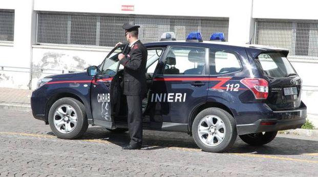 Ad intervenire sono stati i carabinieri