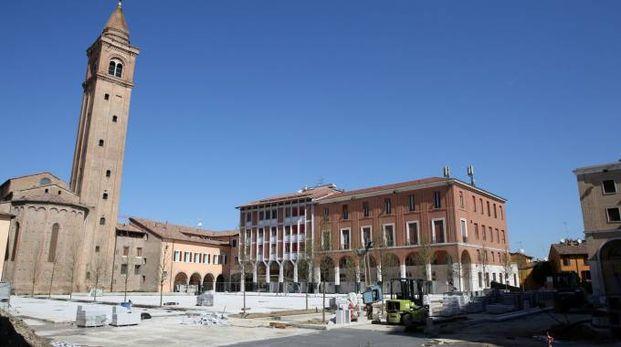 Piazza della Libertà, cantiere aperto: si procede con i lavori in vista della riapertura