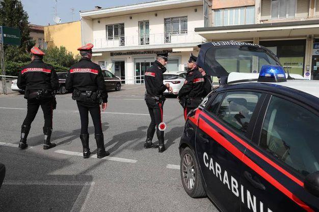 Sono intervenuti i carabinieri (foto Zani)