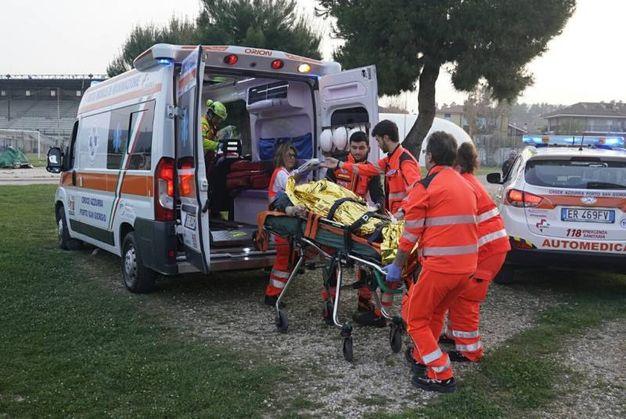 I soccorsi (foto Zeppilli)