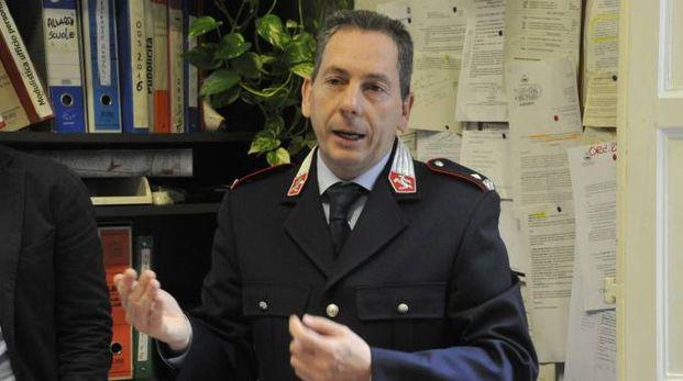 L'ex comandante della polizia municipale Stefano Carmignani