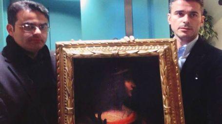 CONFISCATO Il dipinto di Isabella d'Este venne trovato tre anni fa in un caveau a Lugano