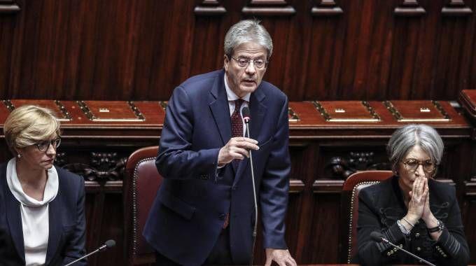 Il premier Paolo Gentiloni (foto Ansa)